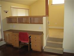 Photo of Carol Schimer's SDU Study and Sleeping Area.