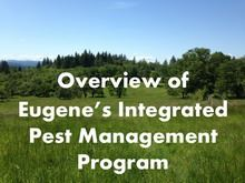 Overview of Eugene's integrated pest management (IPM) program