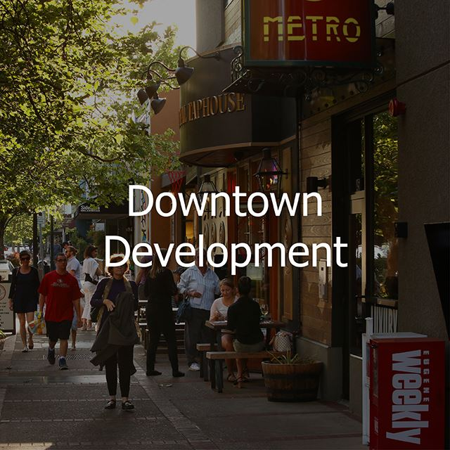 downtown development button link
