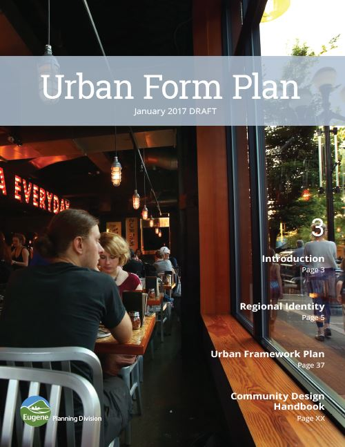 Urban Form Plan Cover