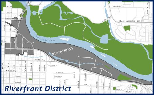 River District Map