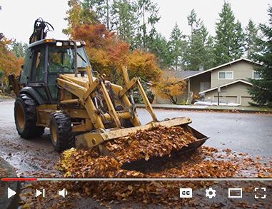Video on Vimeo about the City of Eugene's leaf pick up and drop off program