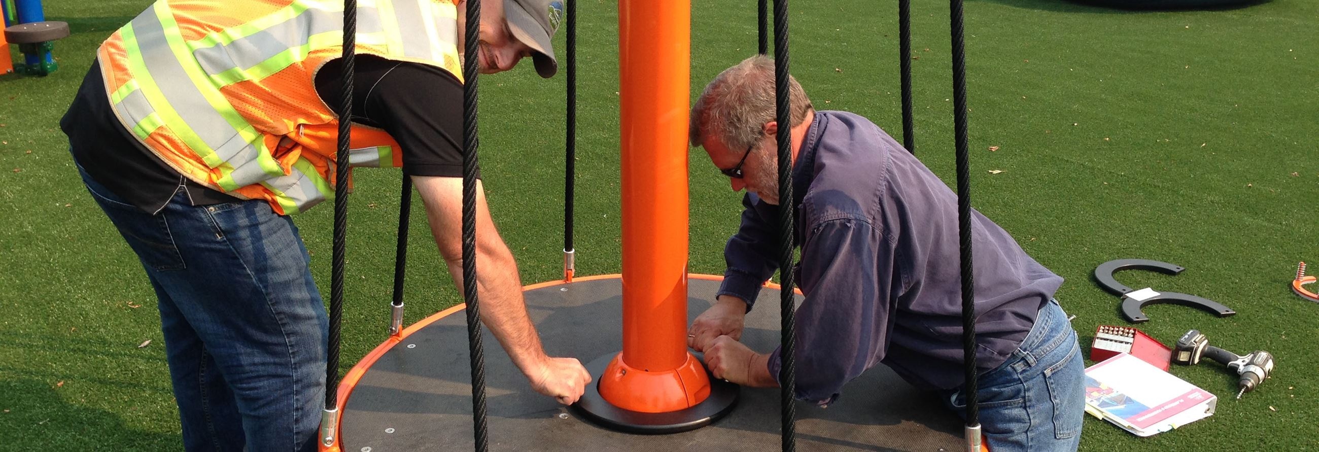Amazon Park Playground Installation