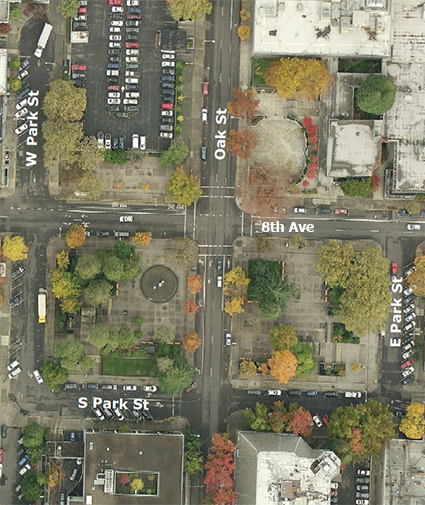 Though the Park Blocks have seen slight changes since 1958 to make the area safer, more open, and mo