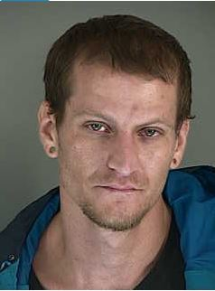 Vaughn Bradley Ruzicka, age 29, of Eugene, was arrested for stealing a vehicle