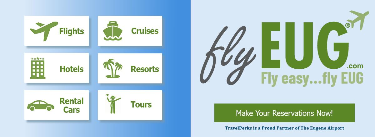 EUG Flight Reservations Booking Travelperks