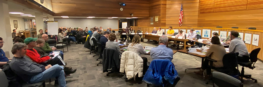 The Mayor's Climate Recovery Ordinance Ad Hoc Work Group reconvened on Feb. 12, 2020.