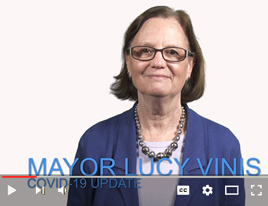 Video on YouTube of Mayor Vinis delivering an update on COVID-19