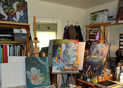 Asante Riverwind Art studio