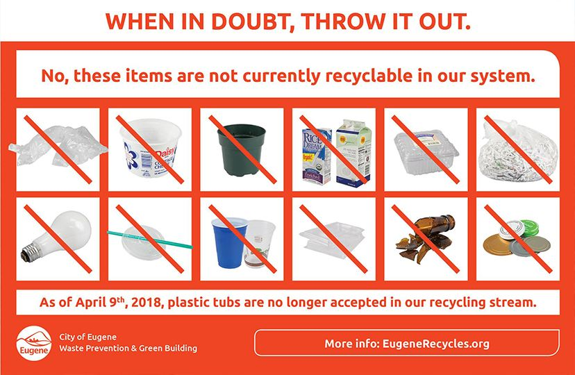 Recycle Flyer Back