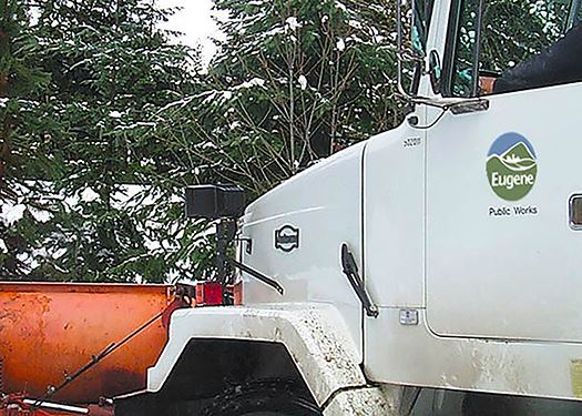Public Works snowplow