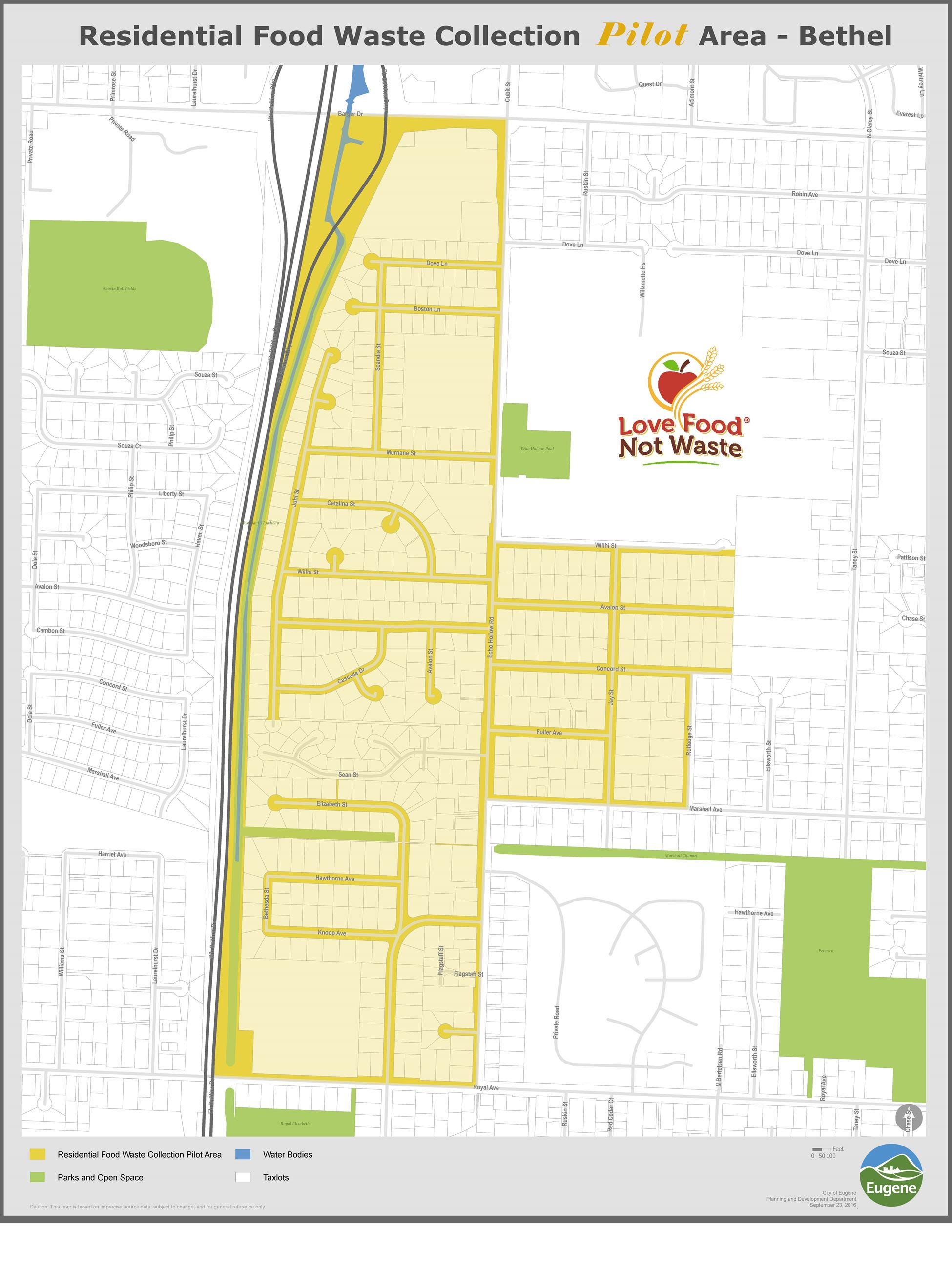 Bethel Neighborhood map