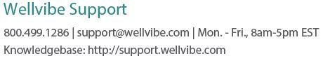 Wellvibe Support