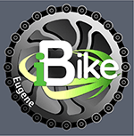 Logo for iBike application that allows users to report maintenance issues on the bike path system