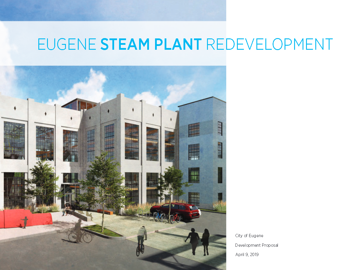 Steam Plant Proposal cover Opens in new window