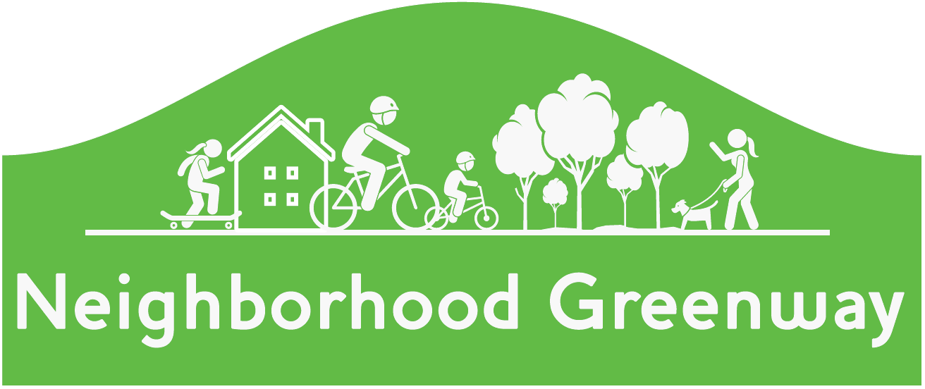 Neighborhood Greenway Sign