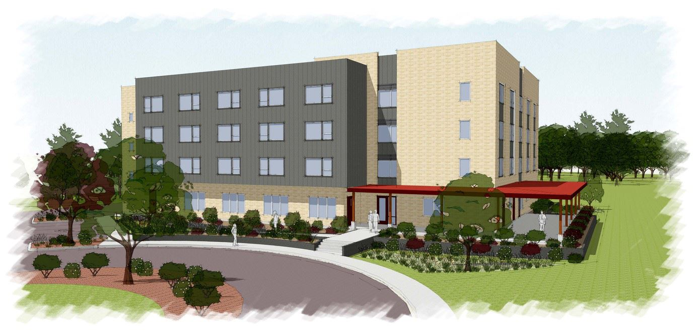 The Commons at MLK will include 51 studio apartments for person experiencing homelessness.