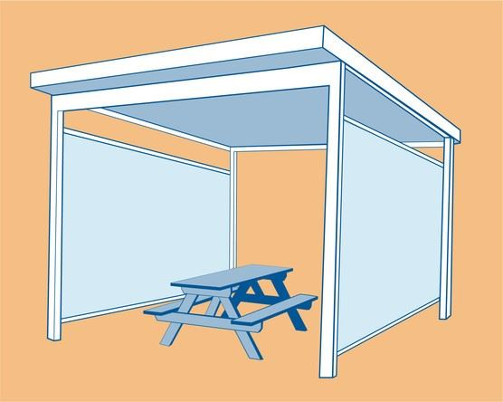 OHA is allowing tents for outdoor dining that have at least 50 percent of the walls open.