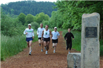 Runners at Amazon Park Trail